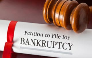 bankruptcy is the best option