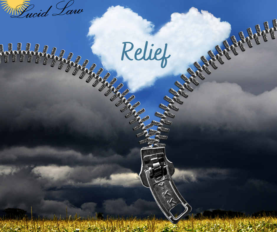 RELIEF is the Key to Debt Relief