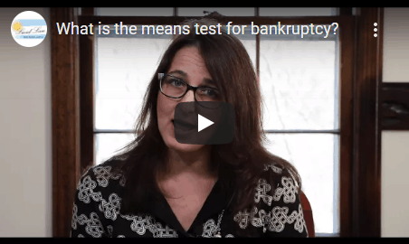 Means testing bankruptcy attorney